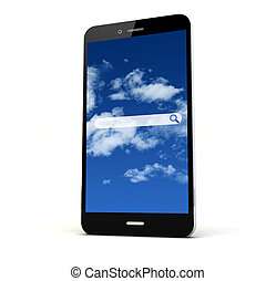 online search application phone
