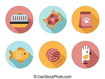 Web icon set Pet, Vet, Pet Shop