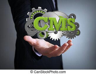 cms coding businessman