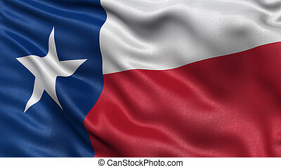 US state flag of Texas