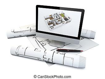 actual house design concept