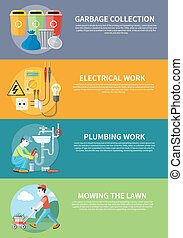 Electrical, Plumbing Work and Mowing Lawn - Plumbing work...