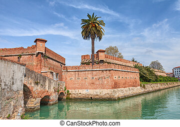 fortress in Livorno, Tuscany, Italy - the old fortress...