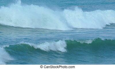 landscape with ocean waves