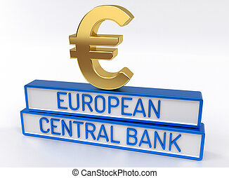 ECB European Central Bank - 3D Render - ECB European Central...