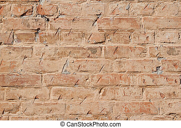 red brick wall can be used as background