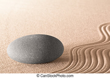 spiritual zen stone - spiritual zen meditation background in...