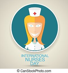 International nurse day concept with nurse - International...