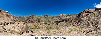 Gran Canaria, Las Cumbres, the highest areas of the island,...