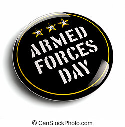 American Armed Forces Day USA isolated image.