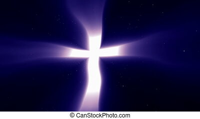 Christian Light Cross of Heaven Con