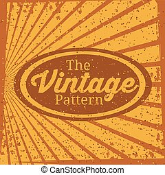 Retro and Vintage background design