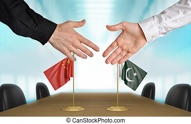 China and Pakistan deal agreement - China and Pakistan...