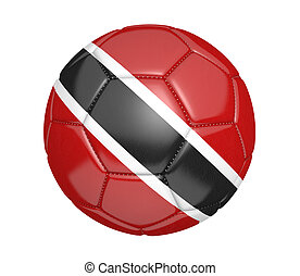 Trinidad and Tobago soccer ball - Soccer ball, or football,...
