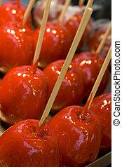 Fair V - Caramel apples from a fair