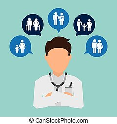 medical insurance design, vector illustration eps10 graphic