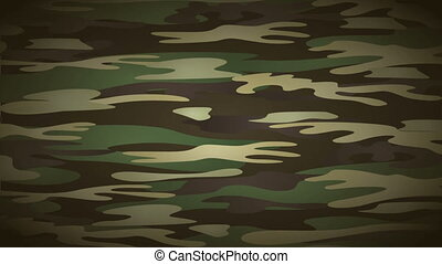 Military background animation - Military camouflage...