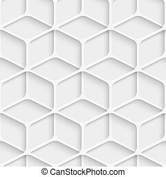 Seamless Cube Pattern - Vector Abstract Seamless Cube...