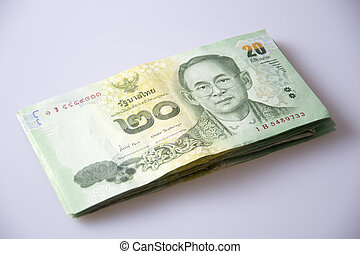 Baht - some thai bath - money