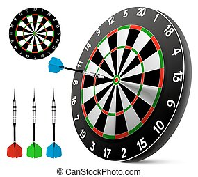 Dart and dartboard