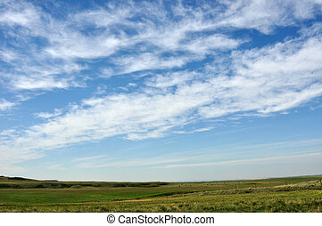 BIG SKIES OVER THE BADLANDS  ALBERTA