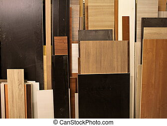 bunch of chipboard - Furniture Panels chipboard in the...