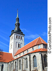 St Nicholas Church, Tallinn - St Nicholas Church in Tallinn,...