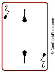 Black Solid Guitar Two - A guitar silhouette used as the two...