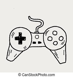 doodle game controller