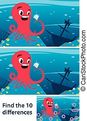 Game to stimulate intuitive learning with octopus -...