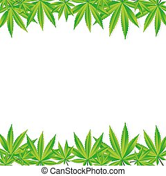 Abstract, Cannabis, achtergrond, Vector, illustratie,