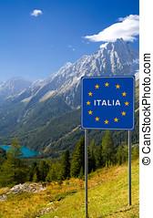 herzlich willkommen, Italien