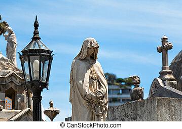 Cemetery Recoleta, Buenos Aires Argentine - Historic...