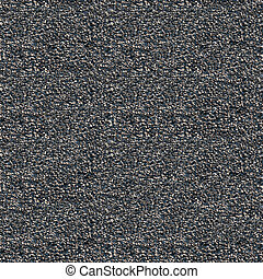 Macadam with asphalt seamless background - Macadam with...