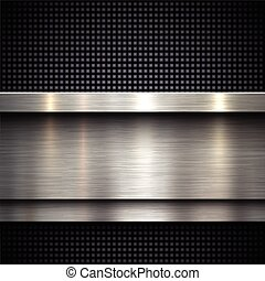 Abstract metal background - Abstract metal template...