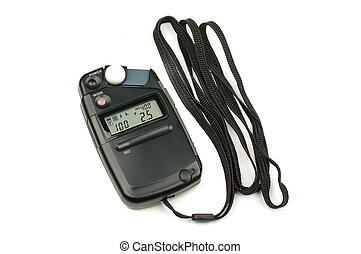 Photography exposure light meter is - Professional studio...