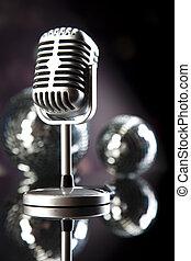 Årgång, begrepp, musik, genomdränktt, mikrofon
