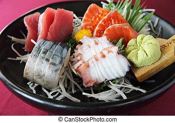 jogo,  sashimi