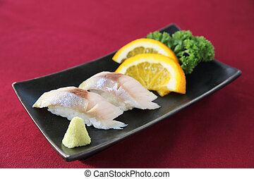 Saba Sushi,mackerel