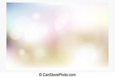 blur background.
