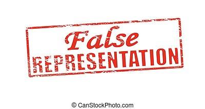 False representation