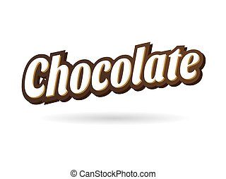 Chocolate Title Text