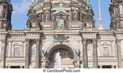 berlin cathedral tilt - berlin cathedral berliner dom the...