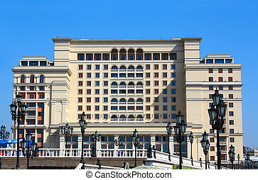 Art Deco building - Building in Art Deco style, Moscow,...