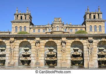 Low View Of Blenheim Palace - Blenheim Palace from Below