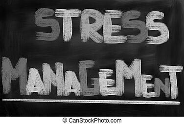 Stress Menagement Concept