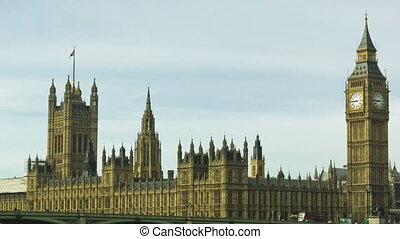 Parliament and Big Ben - One of the most iconic building in...