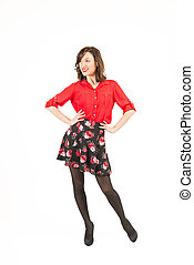 Feeling happy and confident - Full length portrait of a...