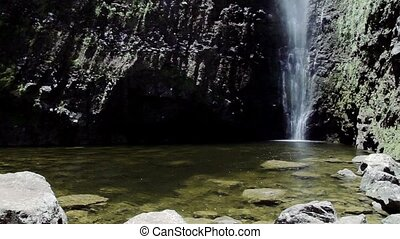 Waterfall,Ile de la Reunion - 1080p, Reunion Nature,...