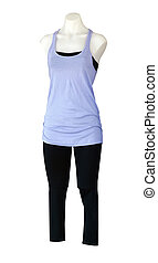 Female Mannequin in Casual Clothes